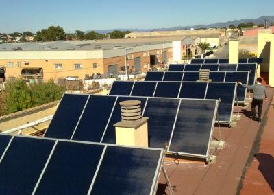 Captadores energía Solar