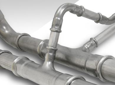 tubo de acero inoxidable para aire comprimido