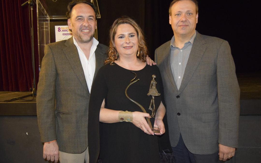 Silvia Morant recibe el Premio a la Empresaria del año de Burjassot
