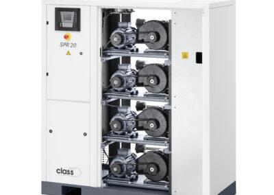 Compresor SCROLL exento de aceite