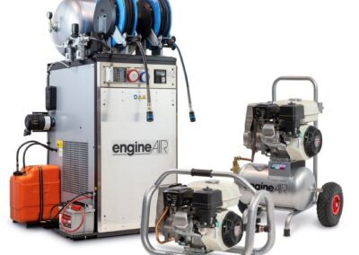 Compresores autónomos Gasolina o Diésel