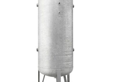 Depósito aire comprimido acero galvanizado