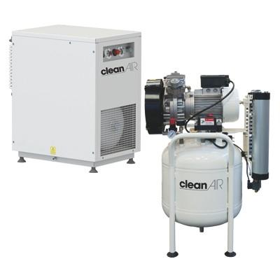 Compresores-piston-sin-aceite-uso-dental