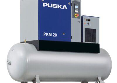 Compresores de tornillo pkm