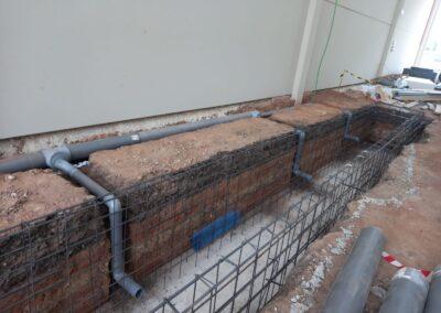 Ventilación foso de inspección